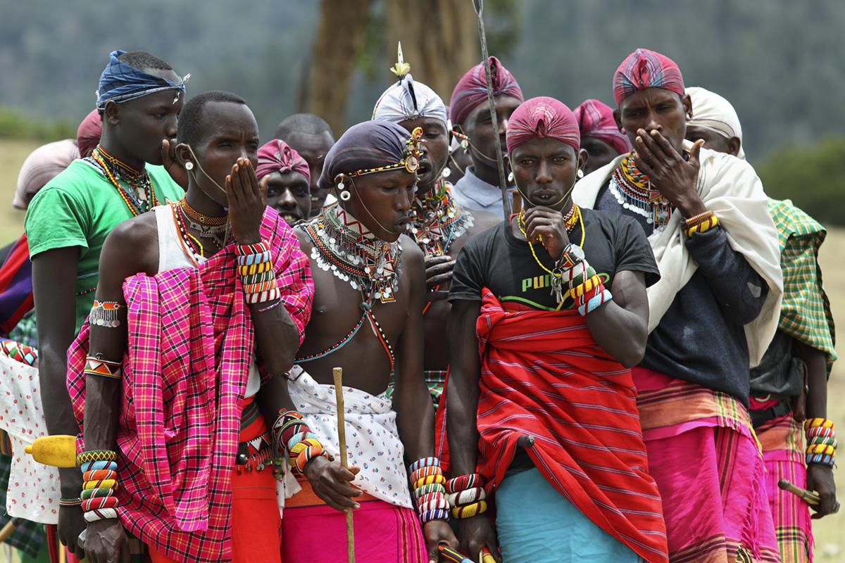 Kenia Maralal Manyatta Lekume Krieger Tanz WWW_01
